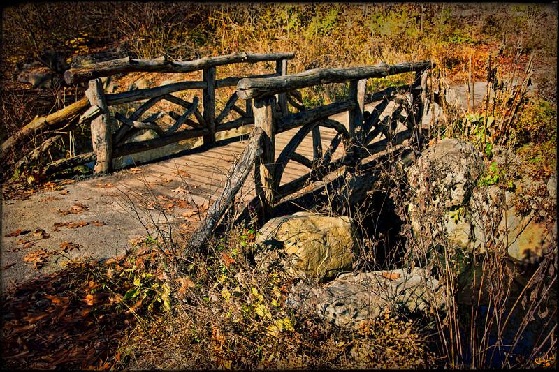 Autumn At Troll Bridge, Central Park<br /> Fol di Roll, Beware of the Troll!