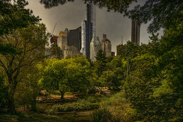 Central Park South Cityscape