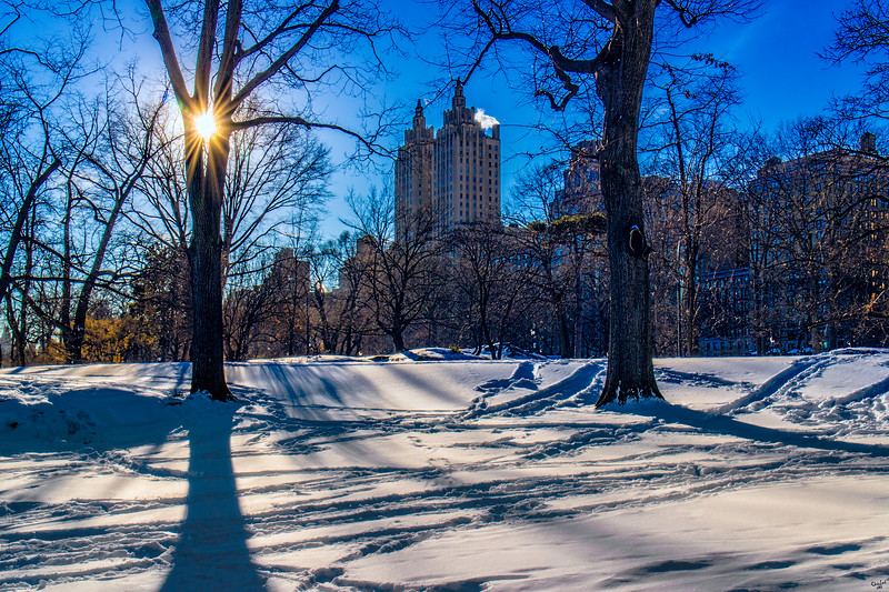 Central Park at 95th Street, West Side
