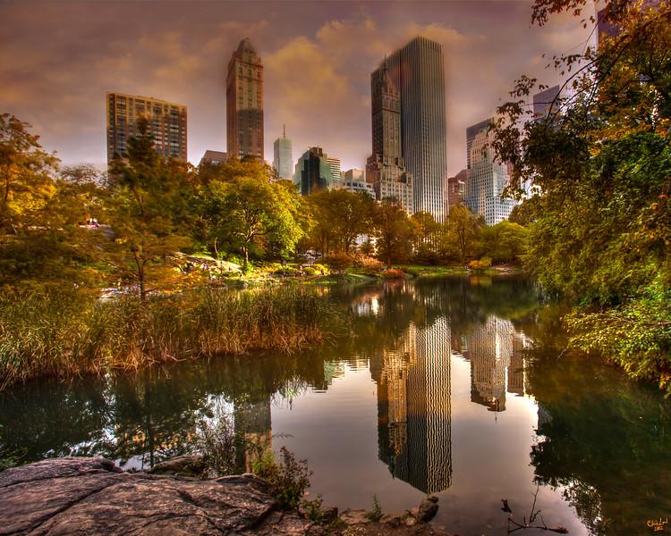 The Pond, Central Park