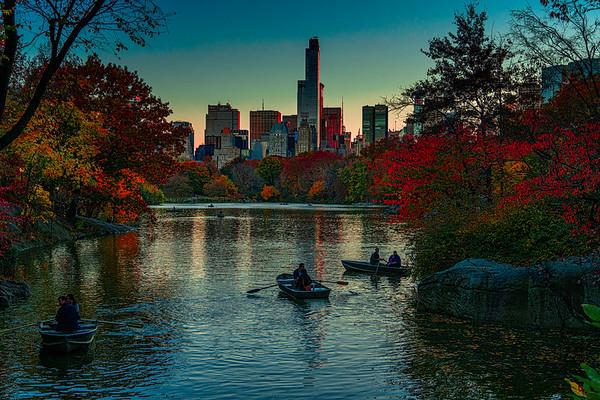The Boating Lake In November
