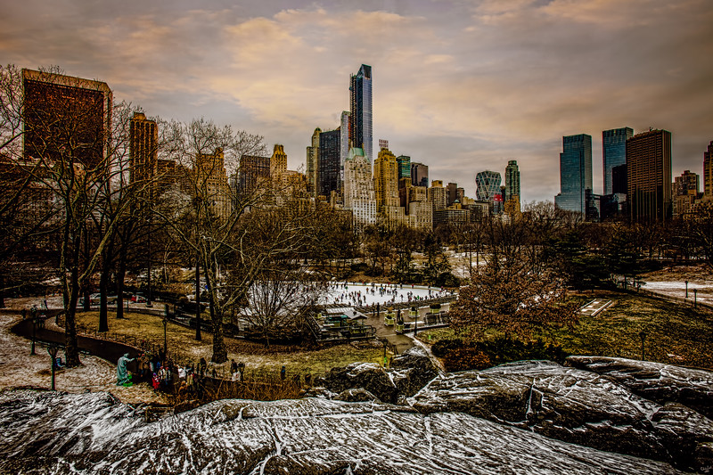 January At Central Park South