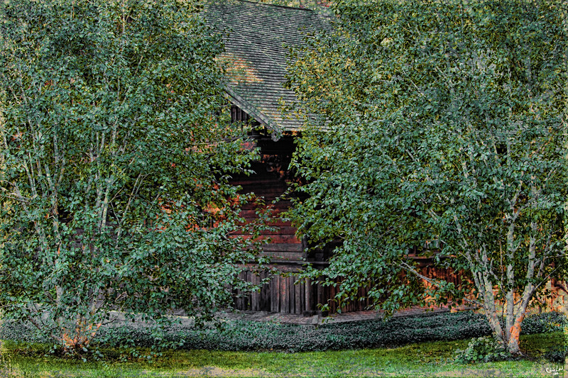 The House in the Woods in Central Park