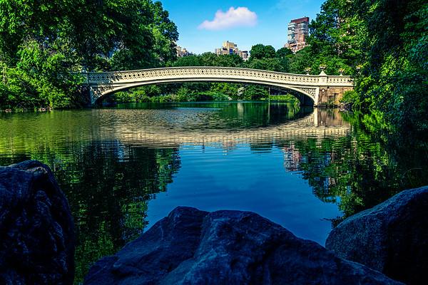 Bow Bridge On Sunday