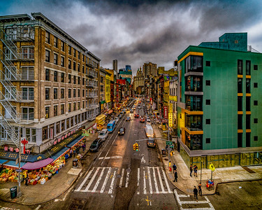 East Broadway From Manhattan Bridge