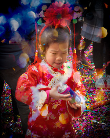 Child At New Year