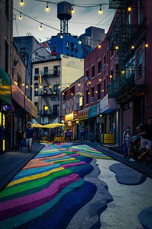 Doyers Street In Summer