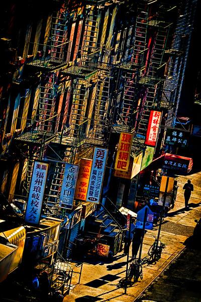 Chinatown Sunset