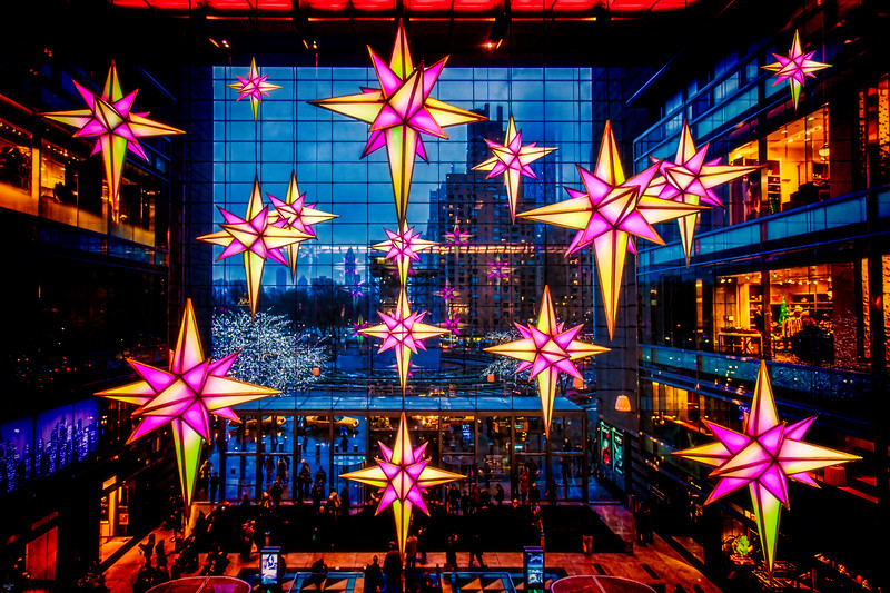 Christmas At The Time Warner Center, New York City