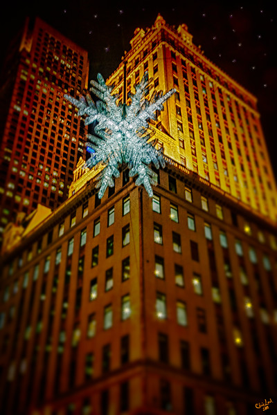 Fifth Avenue Christmas Star at 57th Street