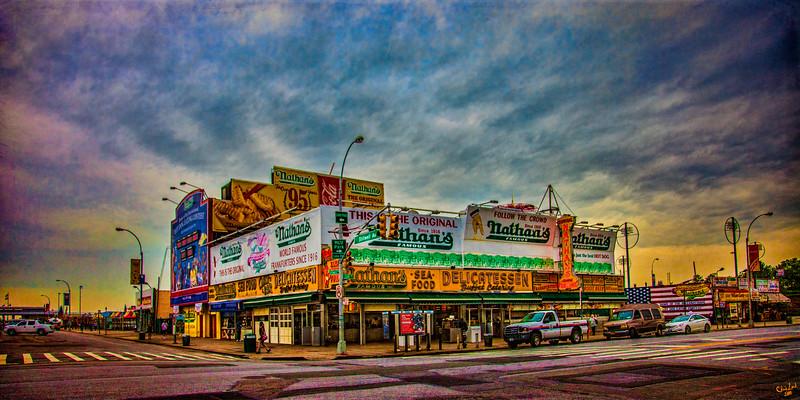 Nathan's, America's Original Hot Dog Emporium