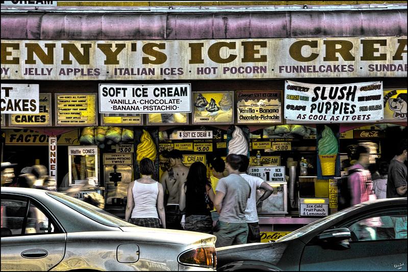 Denny's Ice Cream On Surf Avenue
