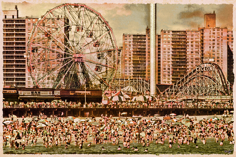 "An ""Old Tyme"" Postcard Look at Summer In Brooklyn"