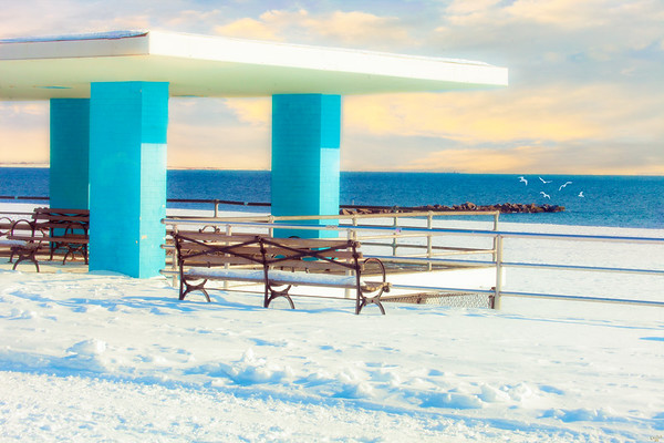 Boardwalk Shelter