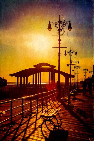 Boardwalk Sunset