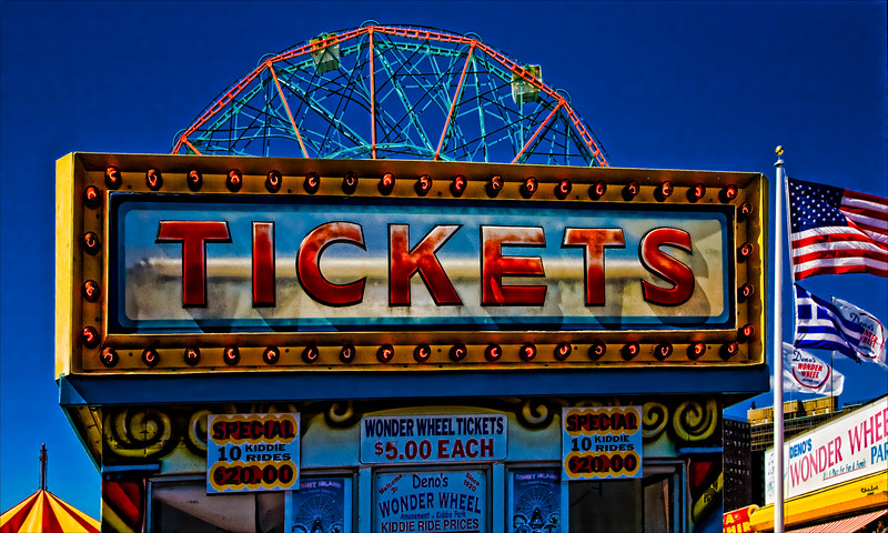 Luna Park Ticket Kiosk