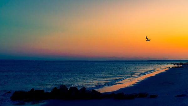 The Beach After Sunset