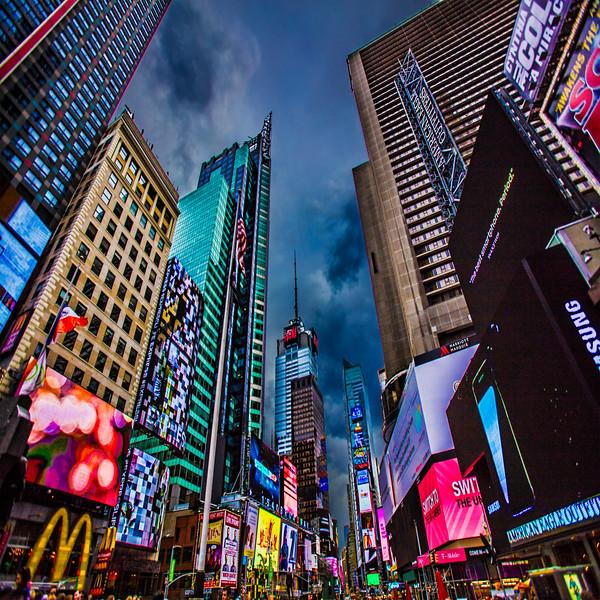 Times Square Color