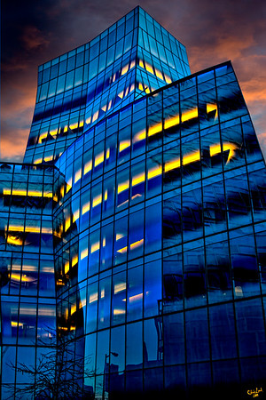 Frank Gehry's IAC Building in Chelsea, New York City