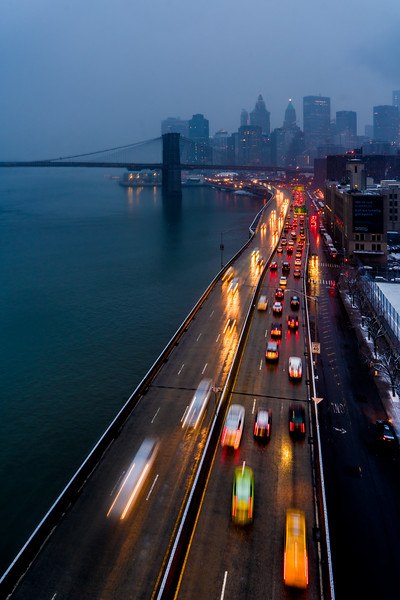 Taffic On The FDR Drive
