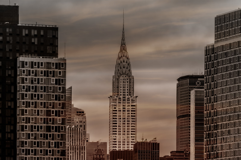 A Chrysler Building Evening
