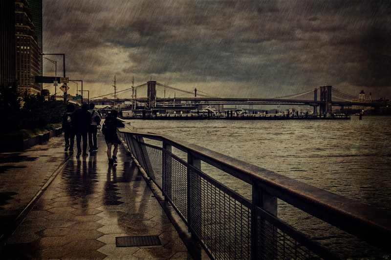 Wet Night On The Waterfront