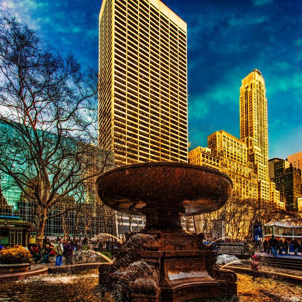 Bryant Park Fountain