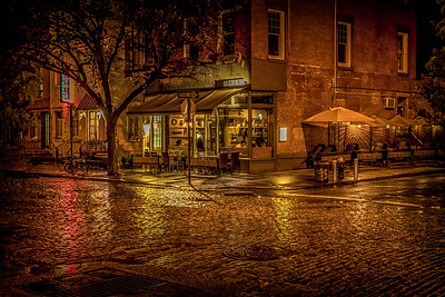 Rain On The Cobblestones
