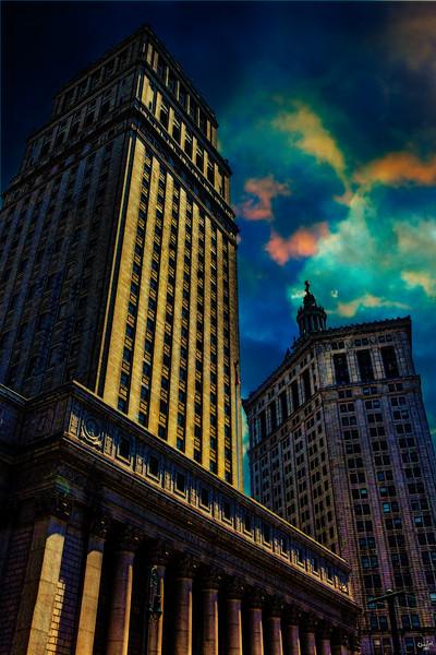 Downtown Municipal Buildings, Manhattan