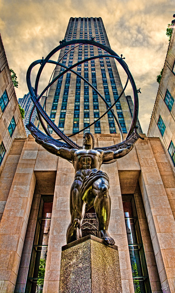 Atlas at Rockerfeller Center, A New York Icon and Classic Image