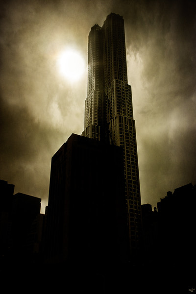 New York Gothic (8 Spruce Street by Gehry)