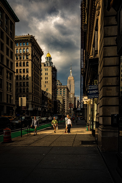 Evening On 5th Avenue