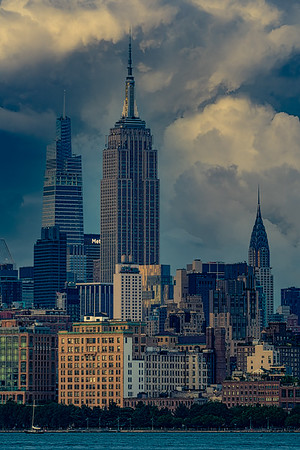 Cloudy Empire State
