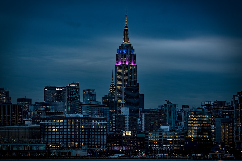 Nightfall In Midtown