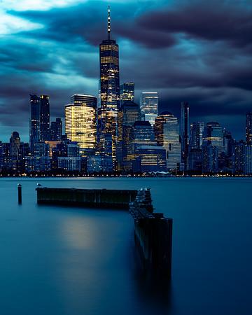 Manhattan Blue Hour