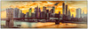 Brooklyn Bridge Panorama with Downtown Manhattan