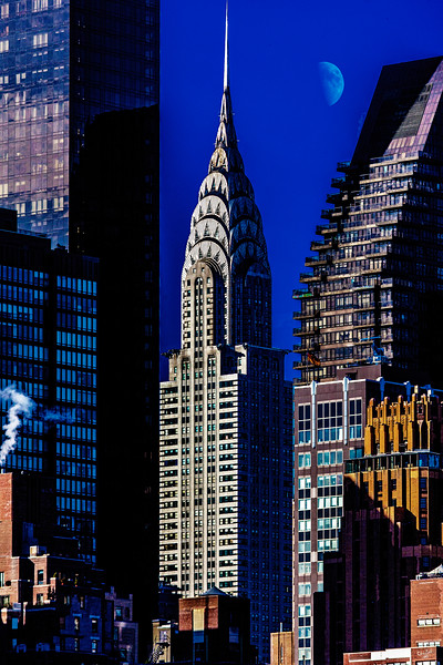 The Chrysler Building in Early Morning Sun