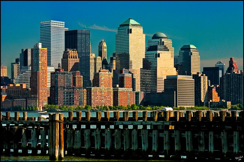 View Of Downtown Manhattan From Hoboken
