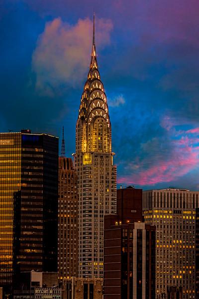 Chrysler Building From Chelsea