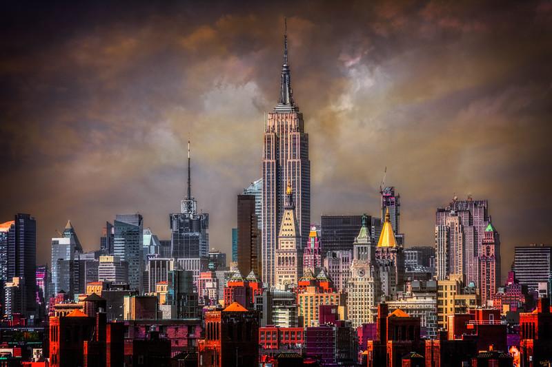East Side Manhattan Looking Uptown