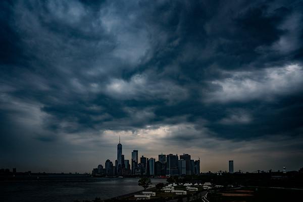 Manhattan Under A Cloud