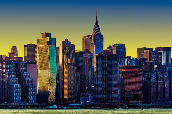East River Cityscape