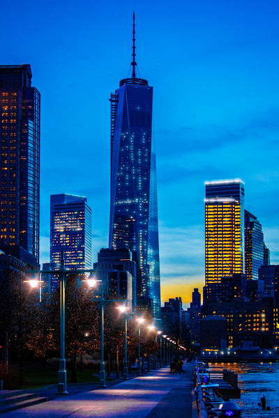 An Evening Walk In Hudson River Park