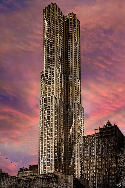 Frank Gehry's 8 Spruce Street,