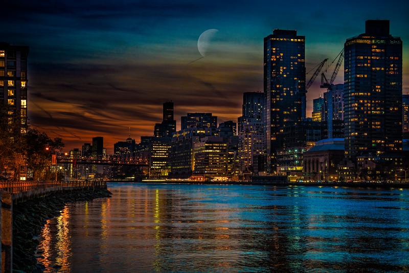 East River Nightfall