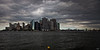 Manhattan from Governor's Island on a Wet Day