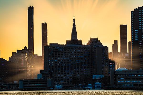 Sunset Down 23rd Street