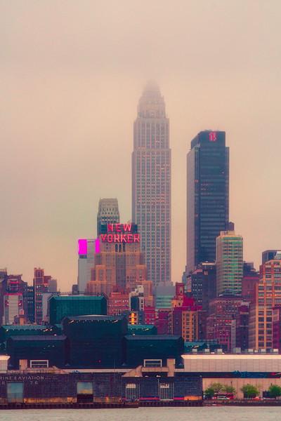 A Wet Afternoon In Manhattan