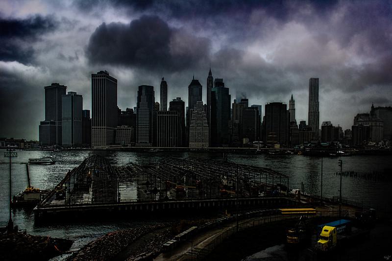 Stormy Downtown