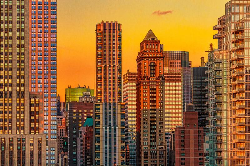 Midtown Sun Down